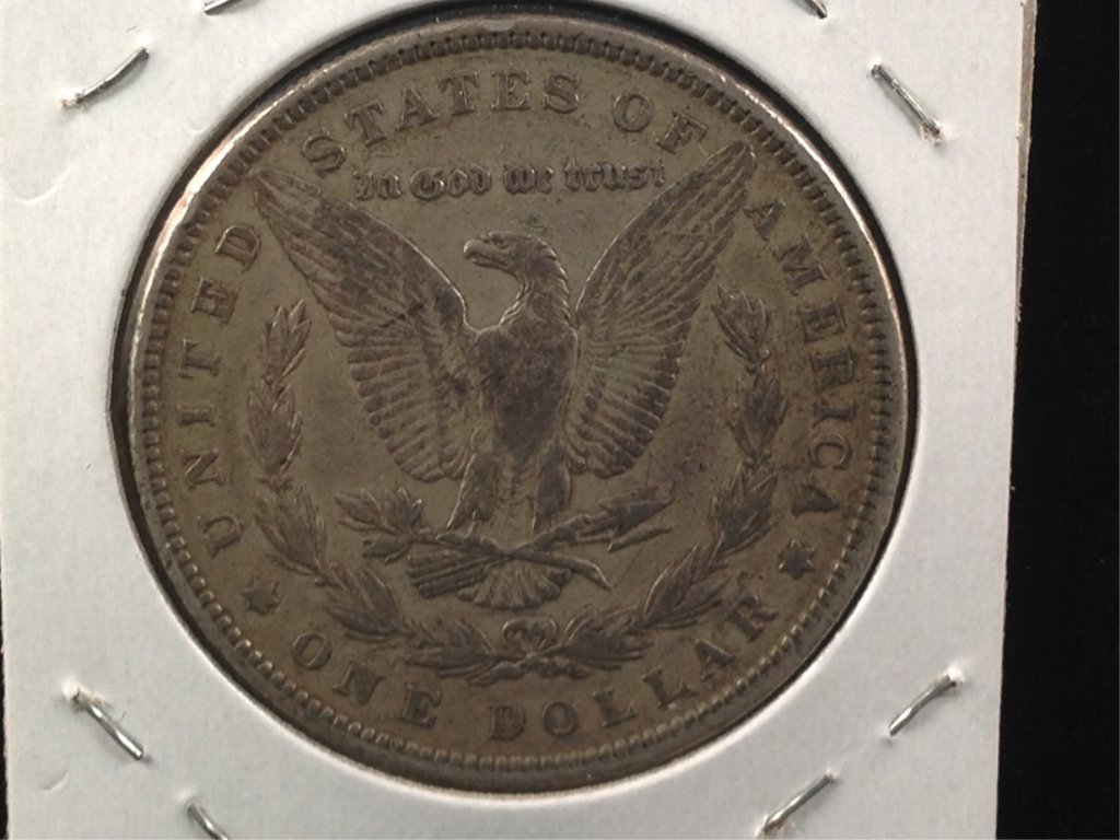 1879 Morgan Silver Dollar 2nd year - 3