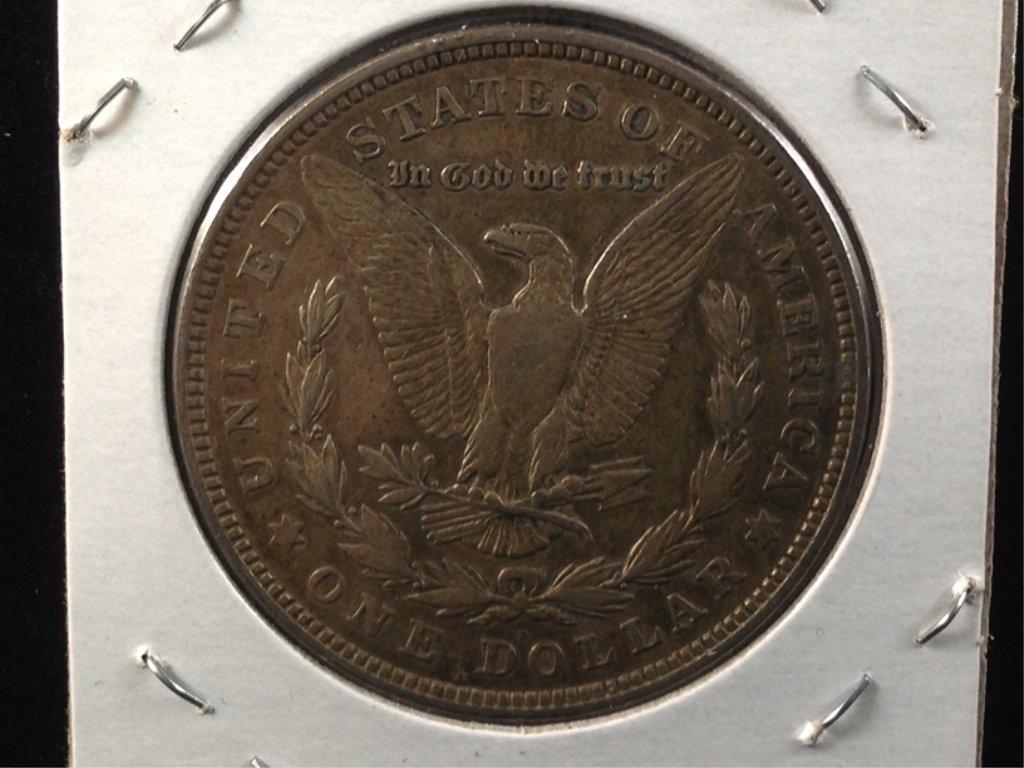 1921-D Morgan Dollar, 90% Silver Coin. - 2