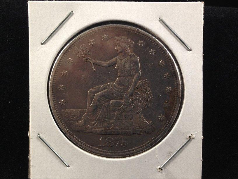 1875 cc Trade Dollar Nice Coin!!!