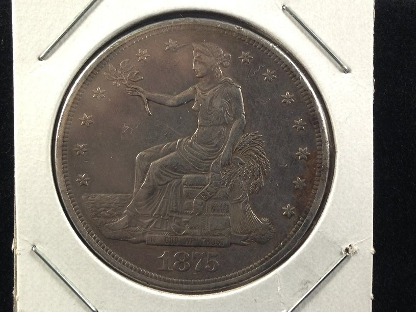 1875 cc Trade Dollar Nice Coin!!! - 2