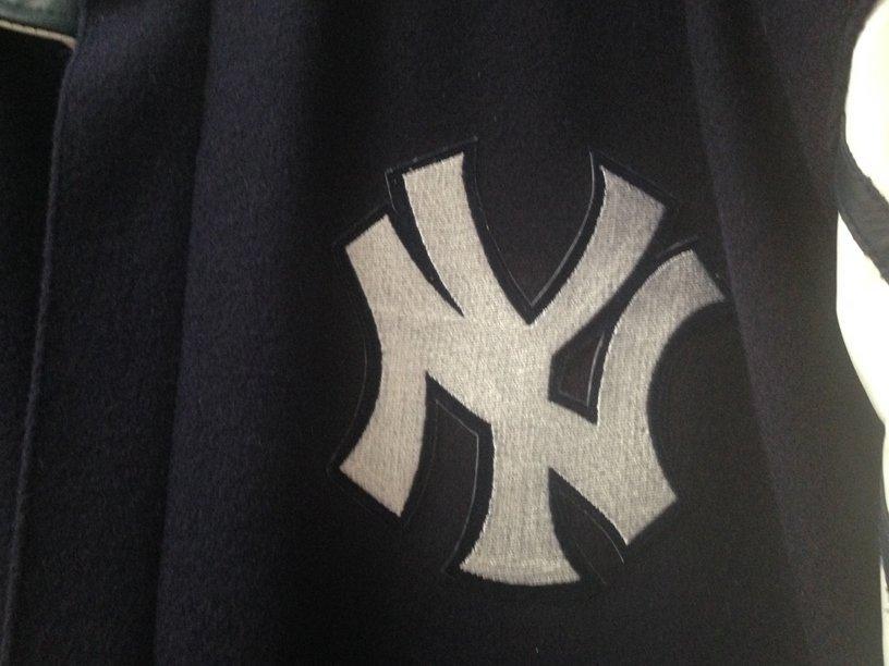 RARE!!! Major League Baseball Jacket NY YANKEES - 3