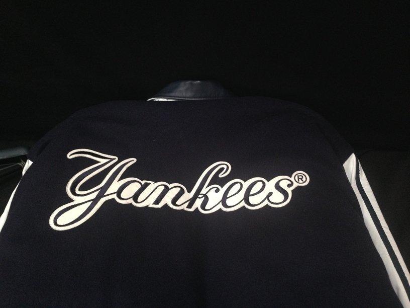 RARE!!! Major League Baseball Jacket NY YANKEES - 9