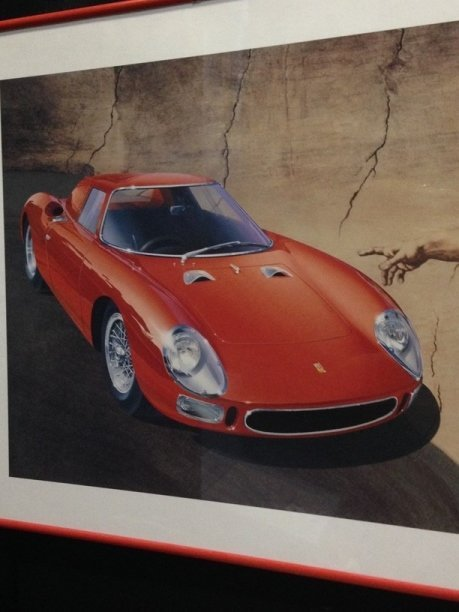 "Signed & Numbered ""Creation of Ferrari"" Print. - 2"