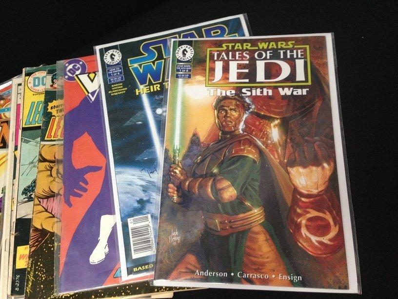 Lot (15) Vintage Comic Books Marvel & DC. - 2