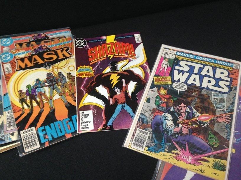 Lot (15) Vintage Comic Books Marvel & DC. - 4