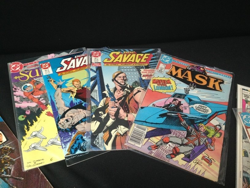 Lot (15) Vintage Comic Books Marvel & DC. - 5