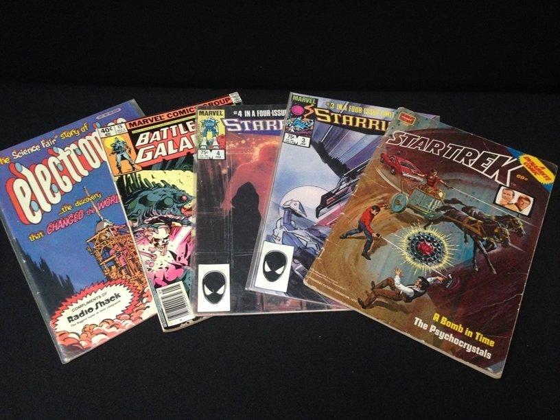 Lot (15) Vintage Comic Books Marvel & DC. - 6