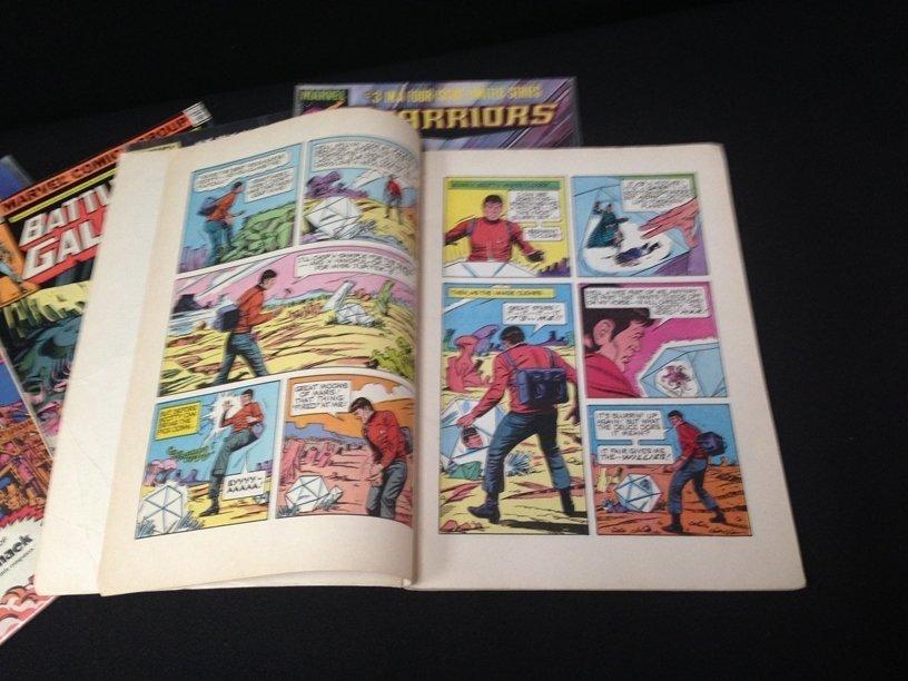 Lot (15) Vintage Comic Books Marvel & DC. - 7