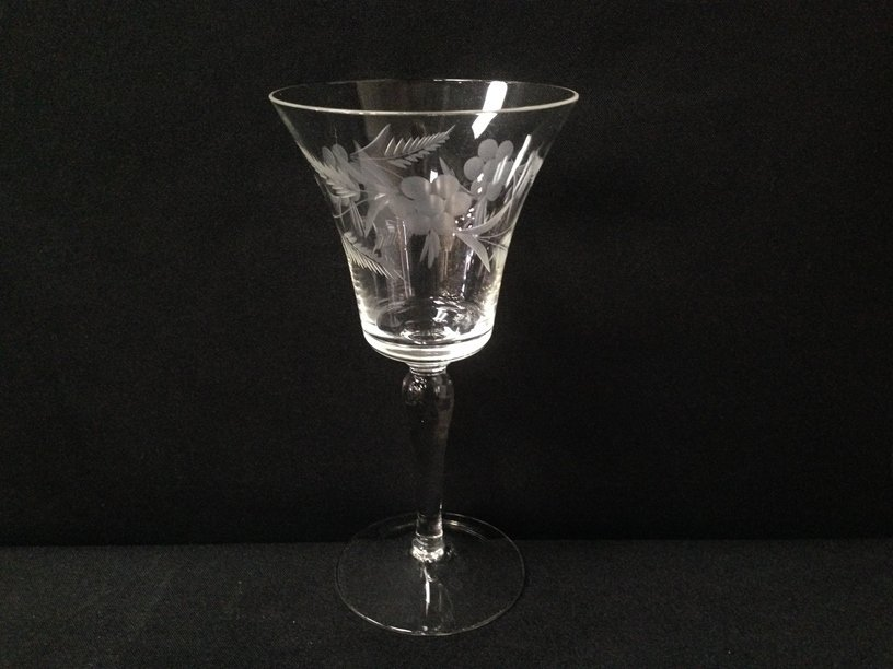 (24) Gorgeous Etched Crystal Stemware. - 2