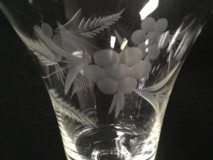 (24) Gorgeous Etched Crystal Stemware. - 3