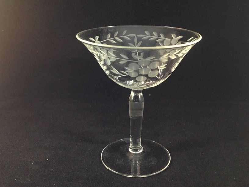 (24) Gorgeous Etched Crystal Stemware. - 7