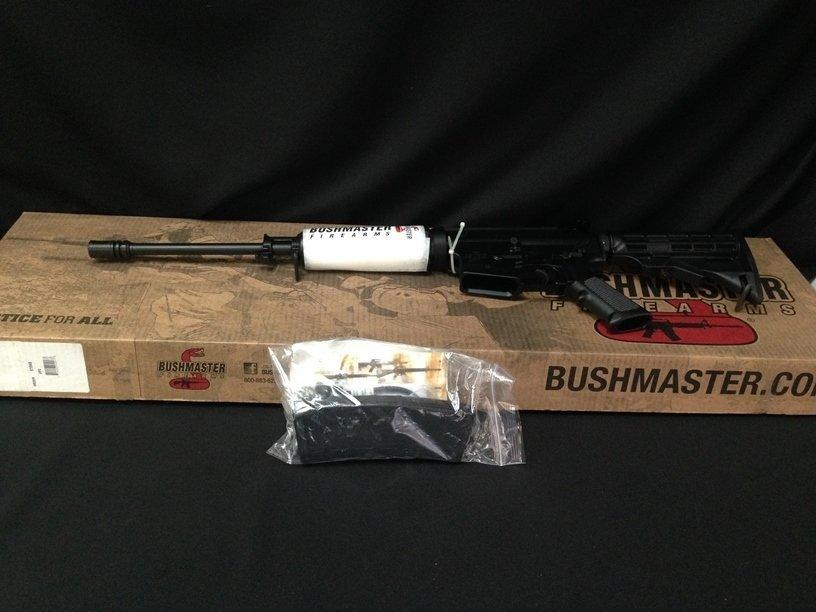 NIB Bushmaster XM-15 5.56 AR-15 Rifle.
