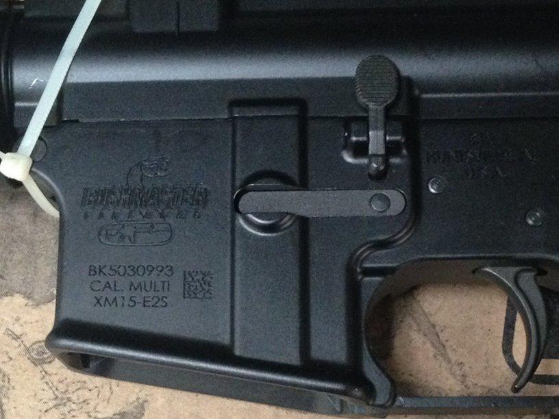 NIB Bushmaster XM-15 5.56 AR-15 Rifle. - 5