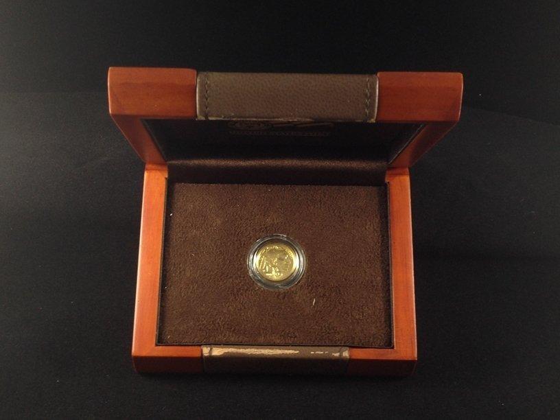 2008 American Buffalo 1/10th ounce $5 Gold Coin