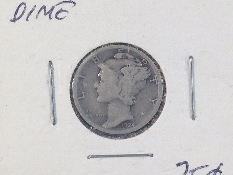 Lot of (7) Mercury Dimes - 3