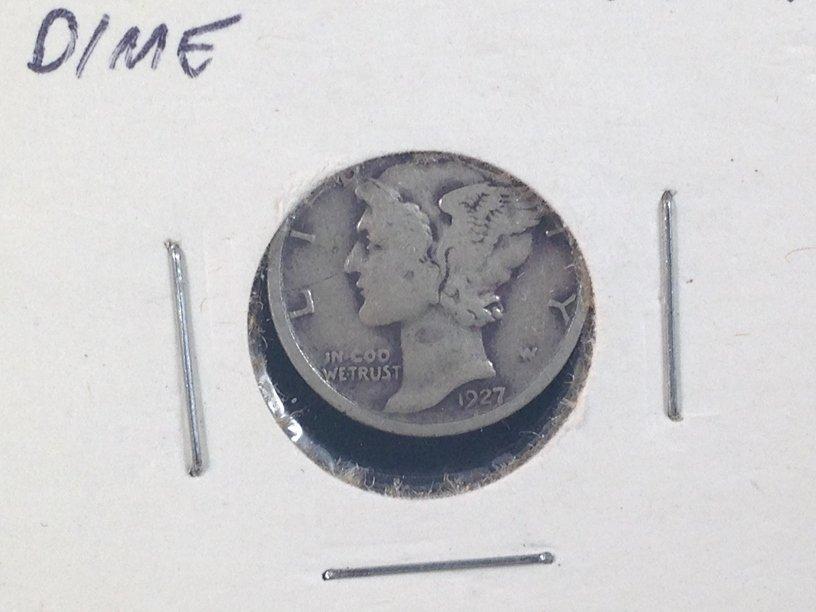 Lot of (7) Mercury Dimes - 4