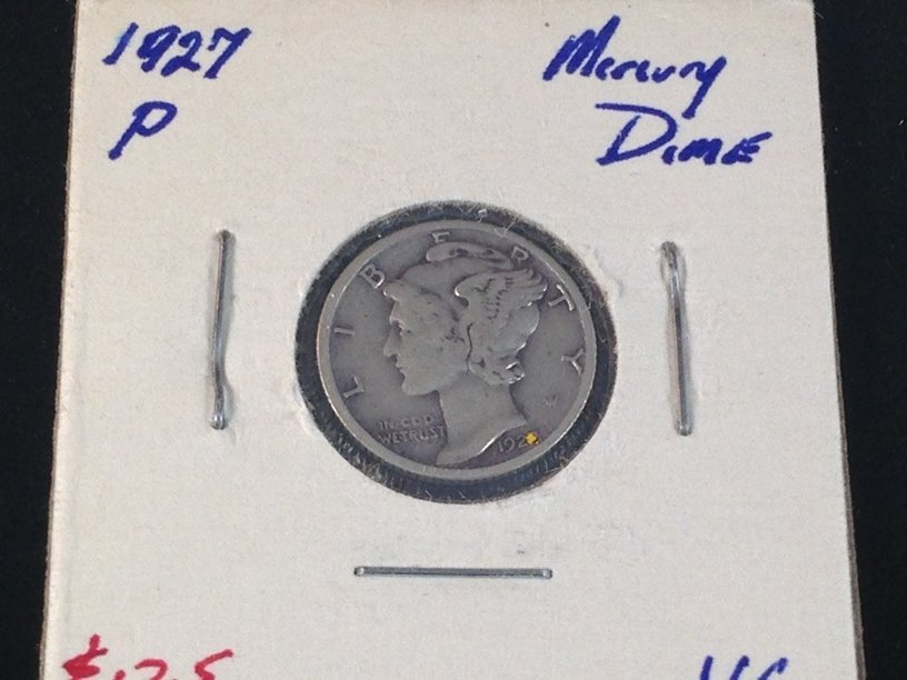 Lot of (7) Mercury Dimes - 8