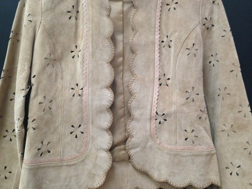 Vintage Ladies Boston Proper Suede Jacket. Sz 4. - 3