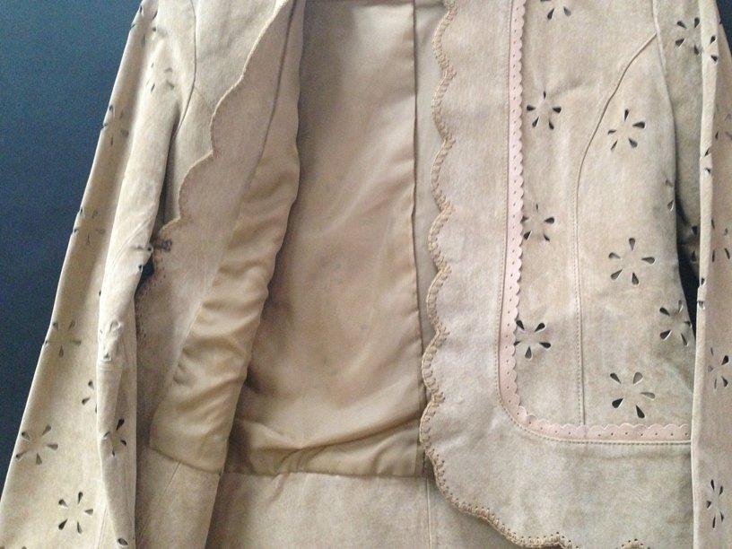 Vintage Ladies Boston Proper Suede Jacket. Sz 4. - 5