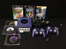 Nintendo Game Cube 2 Controllers 6 Games