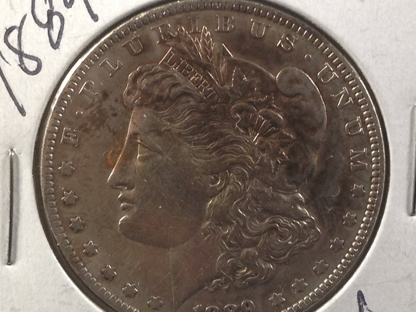 1889 Morgan Silver Dollar. - 2