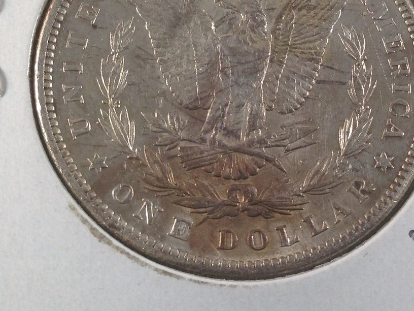1889 Morgan Silver Dollar. - 4