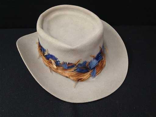 John B. Stetson 4X Beaver Felt Western Hat. 63a208e10a2