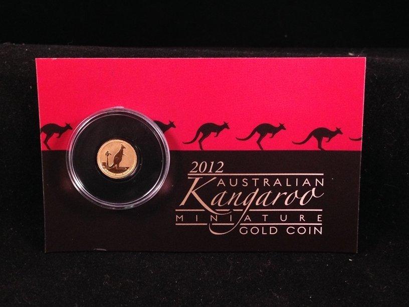 2012 Australian Kangaroo 1/2 Gram Gold Coin
