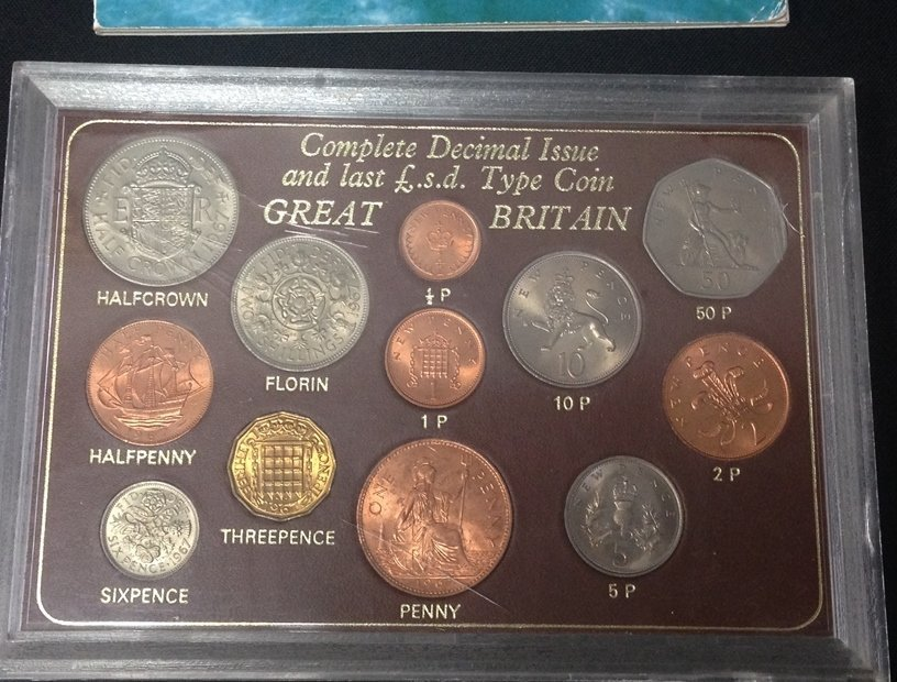Lot (5) British Coin Sets...See Description. - 3