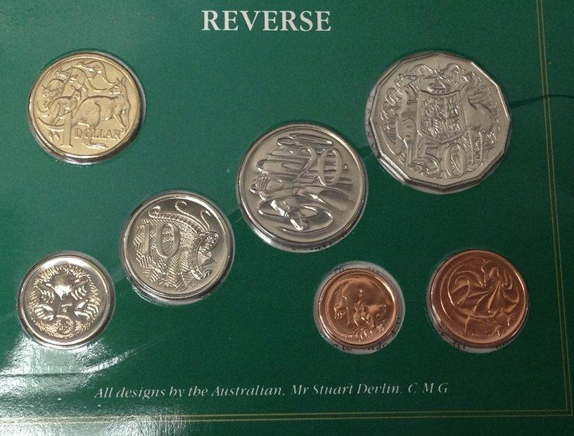 Lot (5) British Coin Sets...See Description. - 4