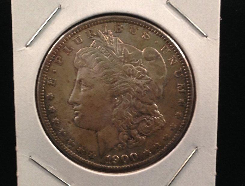 1900 O Morgan Silver Dollar Nice Coin