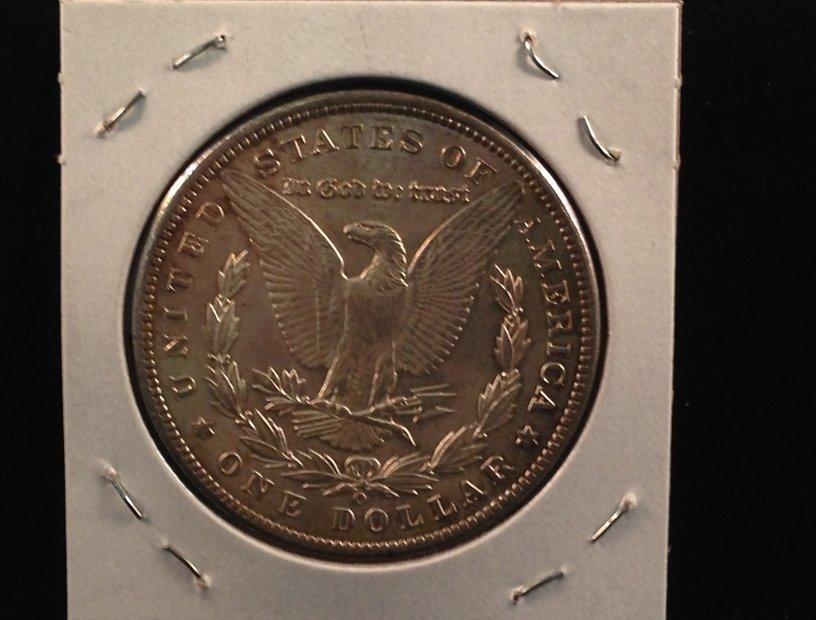 1900 O Morgan Silver Dollar Nice Coin - 2