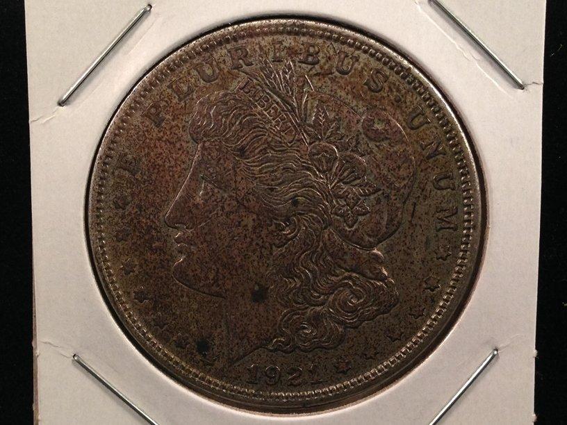 1921 S Morgan Silver Dollar 90% Silver Coin