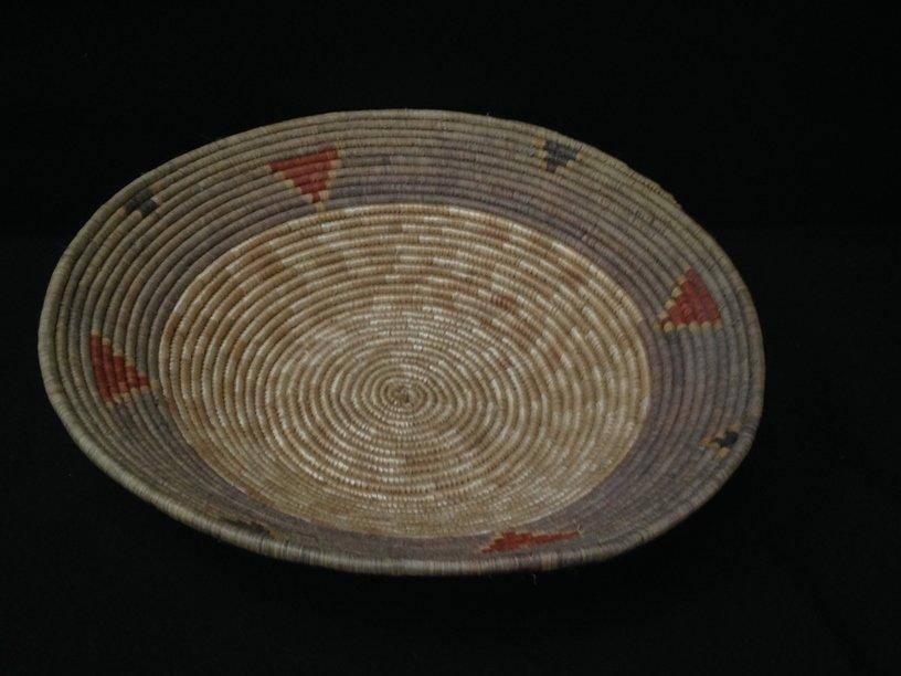Native American Navajo Coil Basket.