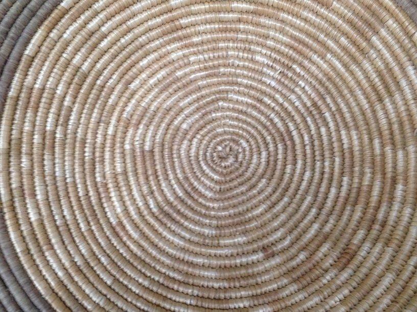 Native American Navajo Coil Basket. - 3