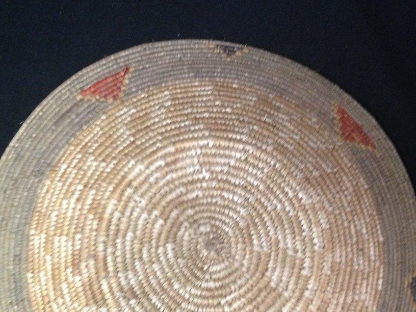 Native American Navajo Coil Basket. - 4