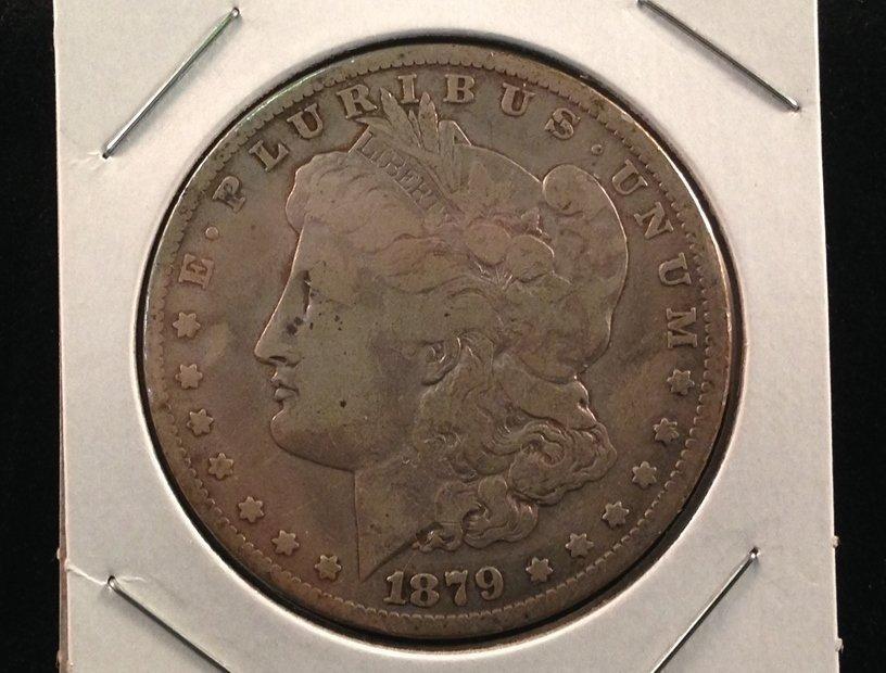 1879 Morgan Silver Dollar 90% Silver 2nd Year