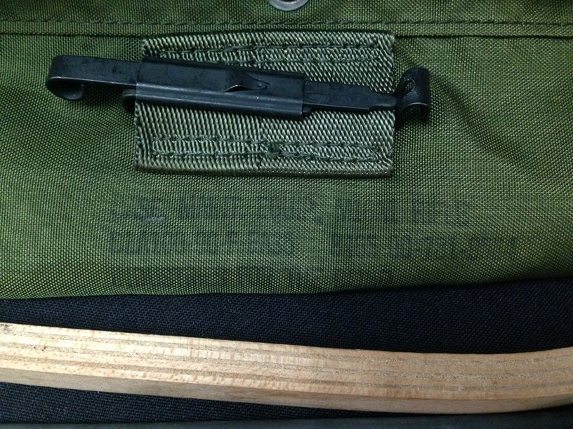 U.S. Olive Green M-16 Cleaning Kit In Pouch. - 2