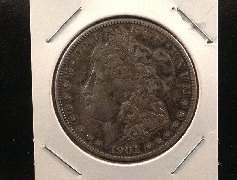 1901 O Morgan Silver Dollar 90% Silver Coin