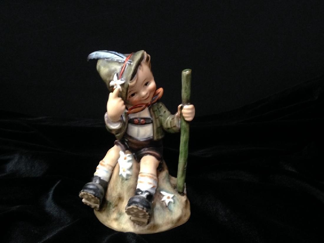 Hummel Figurine 'MOUNTAINEER' TMK-4.