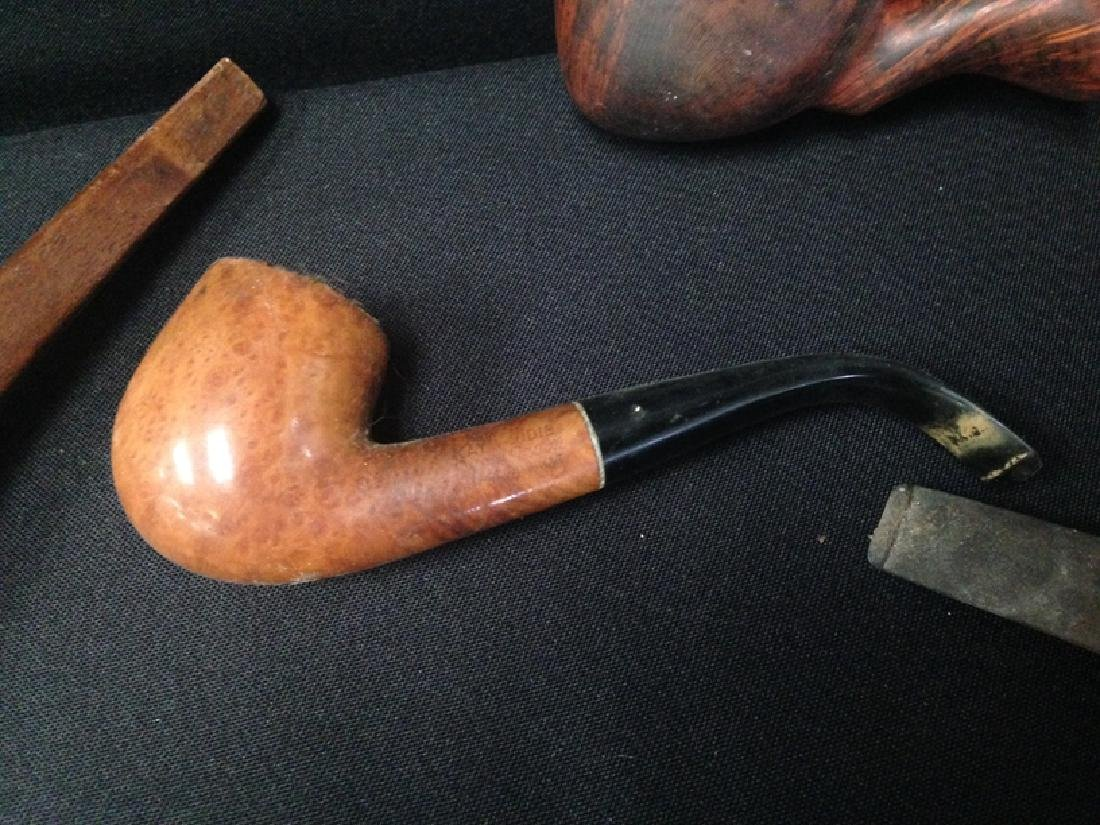 Lot (11) Vintage Tobacco Smoking Pipes. - 5