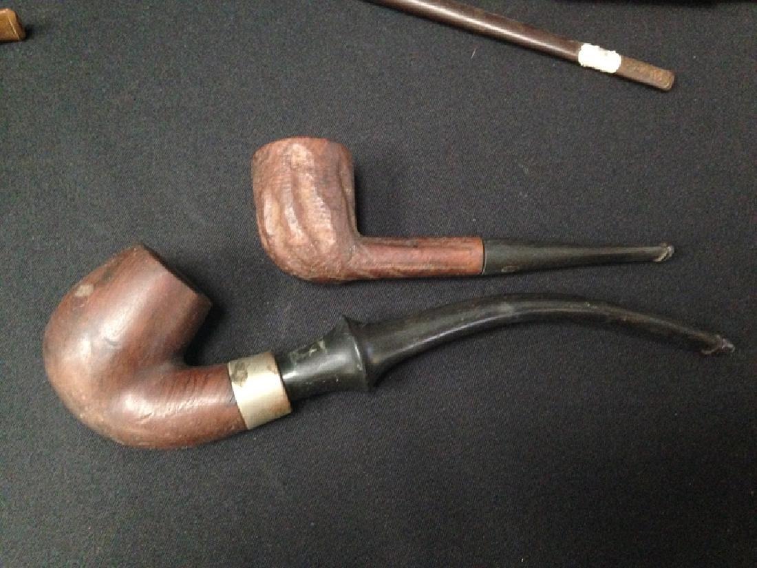 Lot (11) Vintage Tobacco Smoking Pipes. - 7
