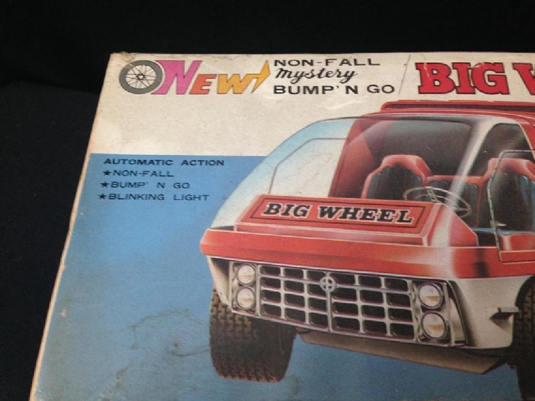 Vintage Big Wheel Taiyo Big Wheel Coca Cola Truck - 3