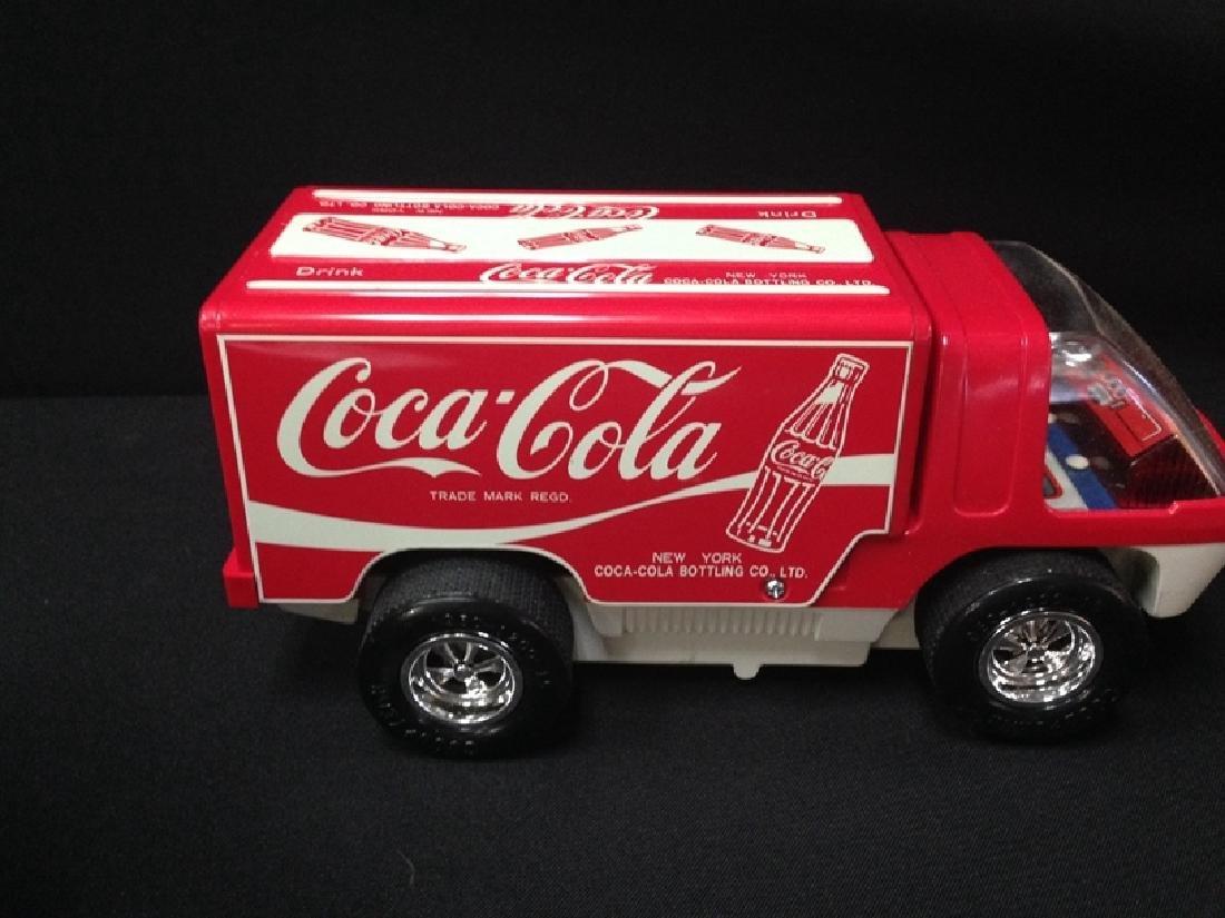 Vintage Big Wheel Taiyo Big Wheel Coca Cola Truck - 4