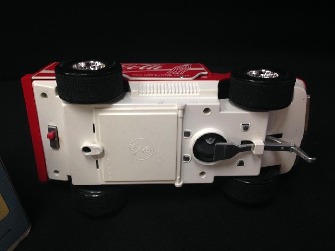Vintage Big Wheel Taiyo Big Wheel Coca Cola Truck - 5