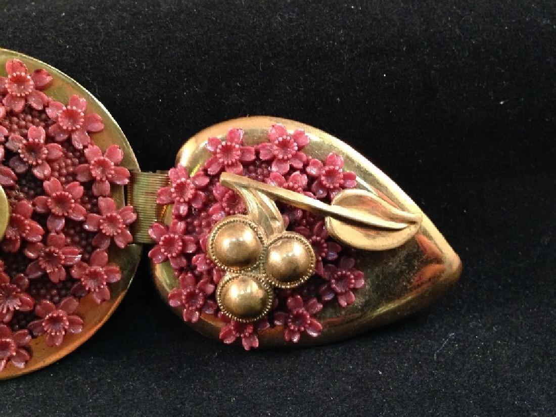 Vintage Brass Belt Buckle Signed Ben Kirschenbaum. - 2