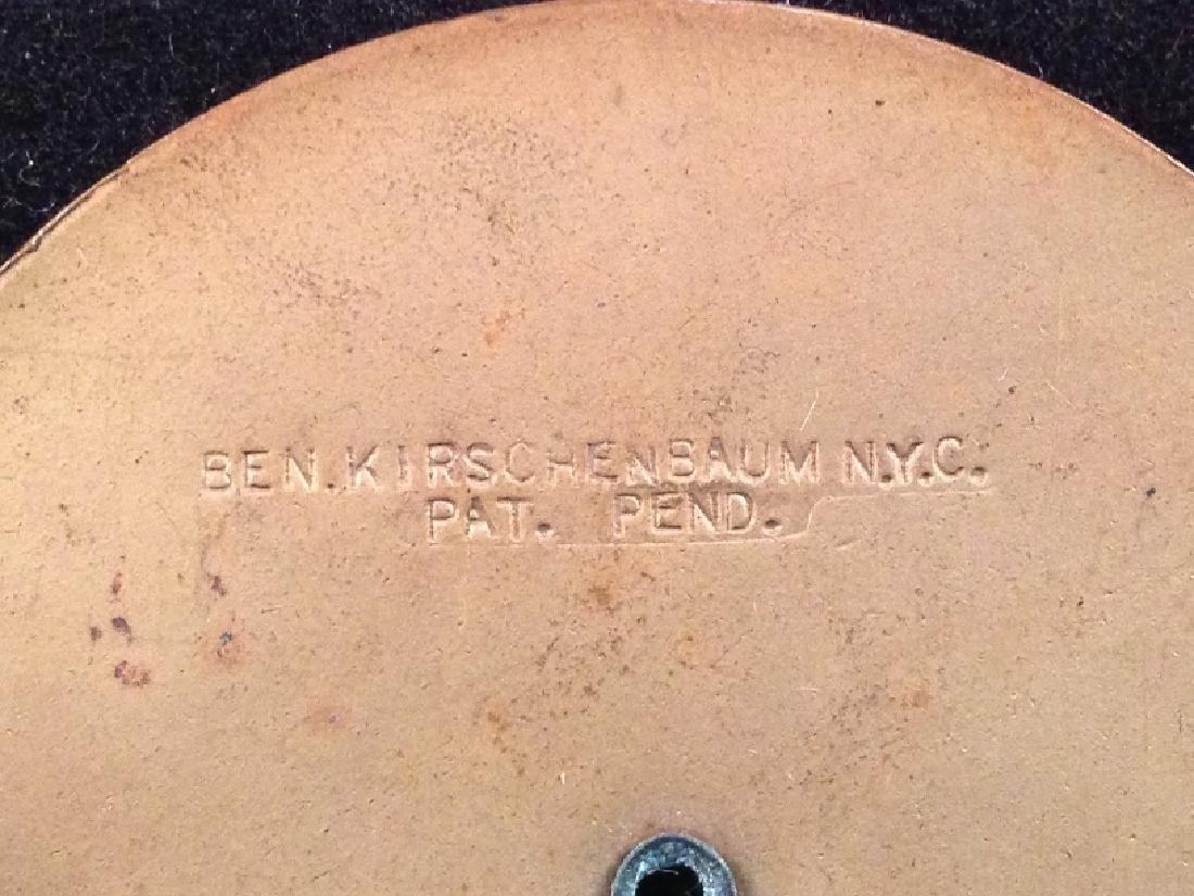 Vintage Brass Belt Buckle Signed Ben Kirschenbaum. - 5