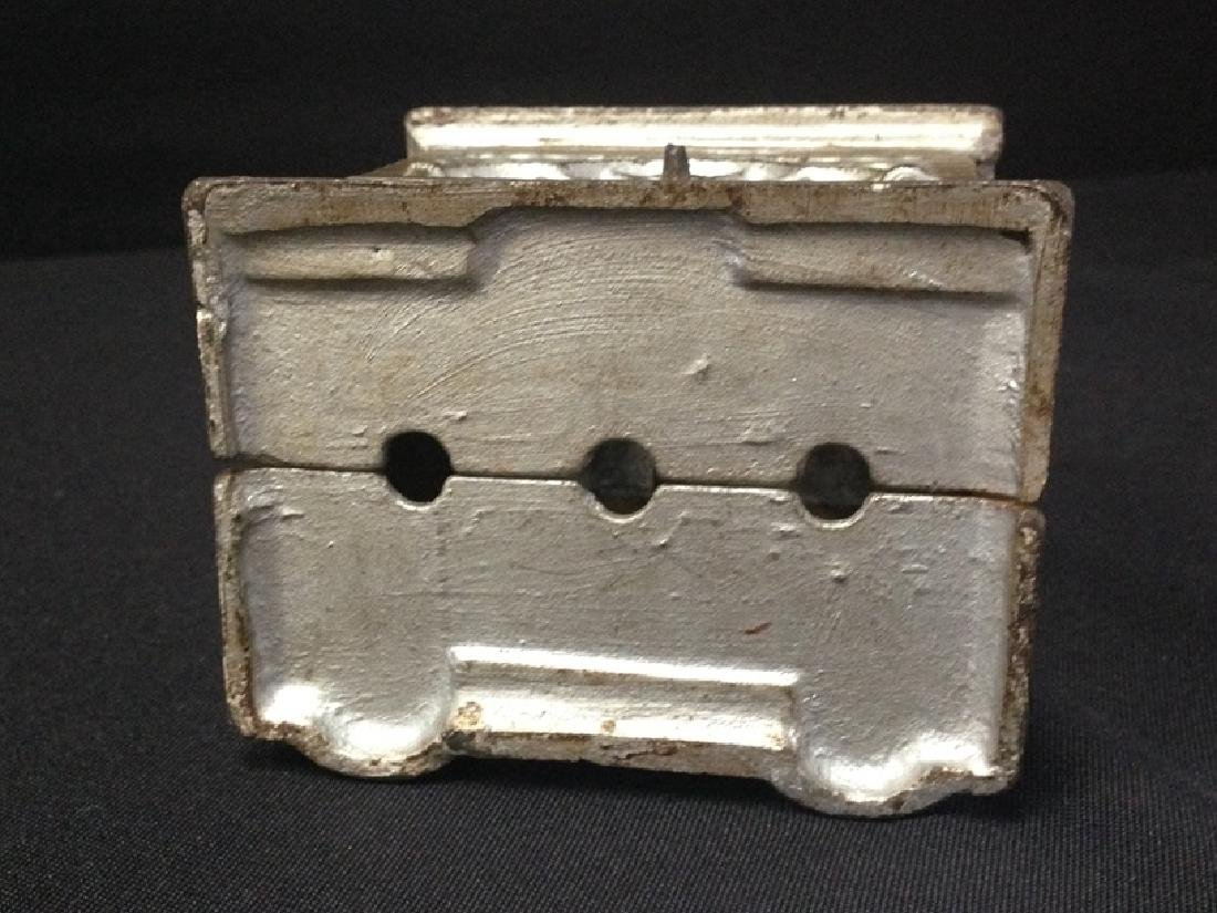Vintage Cast Iron A.C. Williams Double Door Bank - 4