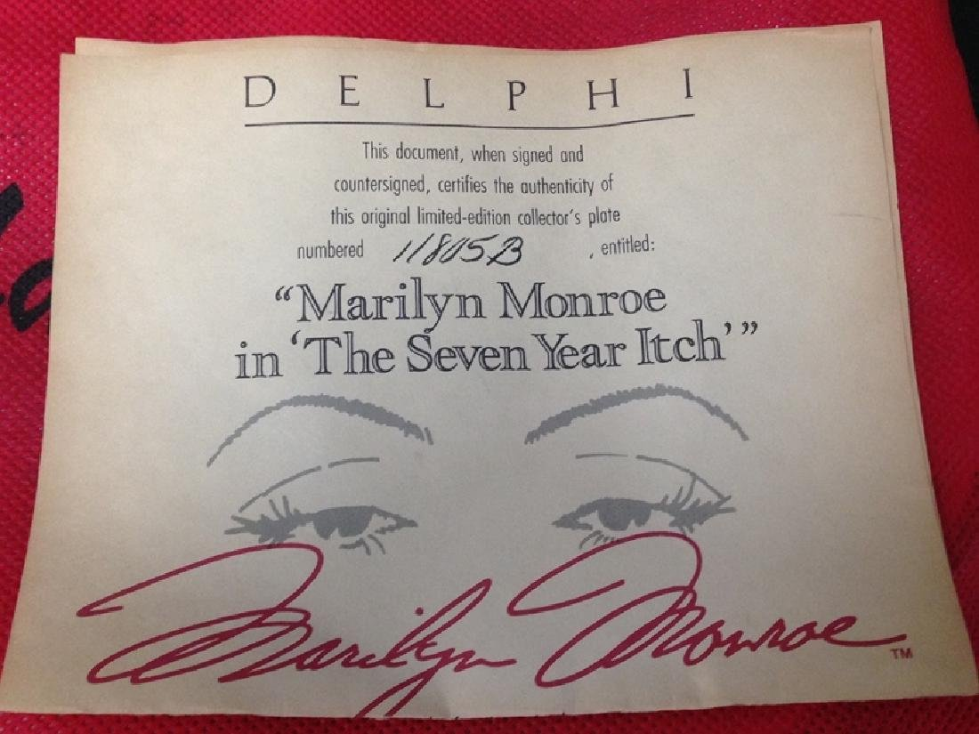 MARILYN MONROE Delphi Ltd. Ed Plate (3) Mugs. - 10