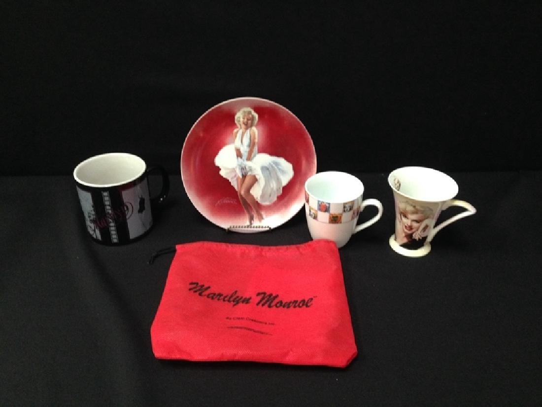 MARILYN MONROE Delphi Ltd. Ed Plate (3) Mugs.